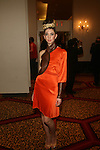 Model in Tyrell Mason - Couture Fashion Week Fall 2013 Collections  Day 3, The New Yorker Grand Ballroom, NY 2/17/13