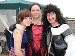 Elisha Hillman, Anita Lynch and Patrick Dudden pictured at the Fair on the green in Duleek. Photo: www.pressphotos.ie
