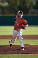 AZL Giants Orange relief pitcher Nick Morreale (40) during an Arizona League game against the AZL Mariners on July 18, 2019 at the Giants Baseball Complex in Scottsdale, Arizona. The AZL Giants Orange defeated the AZL Mariners 7-4. (Zachary Lucy/Four Seam Images)