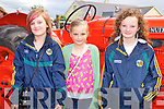 MACRA: Having fun at the Kilmoyley Macra family field day on Sunday l-r: Kayce Keane and Victoria Murphy, Ardfert and Aoife O'Carroll, Ballyduff.