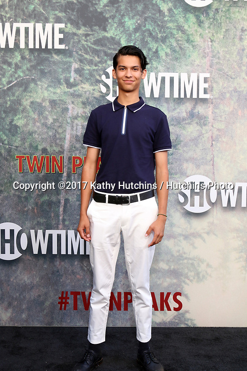 """LOS ANGELES - MAY 19:  Xolo Mariduena at the """"Twin Peaks"""" Premiere Screening at The Theater at Ace Hotel on May 19, 2017 in Los Angeles, CA"""