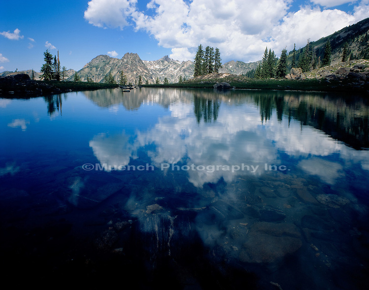 """Gilpin Lake, Mt. Zirkel   COLORADO"" , Zirkel Wilderness"