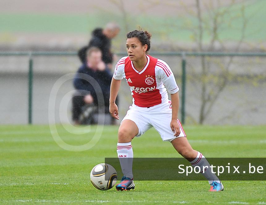 RSC Anderlecht Dames - Ajax Amsterdam : Carmen Manduapessy.foto DAVID CATRY / Nikonpro.be