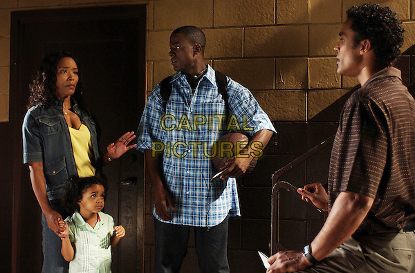 ANGELA BASSETT, LANCE GROSS & RICK FOX   in Meet the Browns .(Tyler Perry's Meet the Browns).*Filmstill - Editorial Use Only*.CAP/FB.Supplied by Capital Pictures.