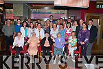 90 YEARS YOUNG: Jane Costello, Kevin Barry Villas, (seated 2nd right) celebrating her 90th birthday with family and friends at Gally's restaurant and bar on Tuesday.   Copyright Kerry's Eye 2008