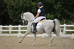 Stapleford Abbotts. United Kingdom. 04 August 2019. Class 8. British dressage. Brook Farm training centre. UK.~ 04/08/2019.  MANDATORY Credit Garry Bowden/Sport in Pictures - NO UNAUTHORISED USE - 07837 394578