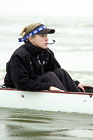 REDWOOD SHORES, CA - JANUARY 2002:  Wendy Hoevler of the Stanford Cardinal during practice in January 2002 in Redwood Shores, California.
