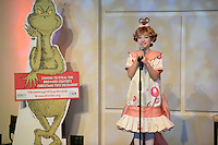 FORT LAUDERDALE FL - DECEMBER 16 : Rachel Katzke as Cindy Lou Who poses for a portrait during media day at The Broward Center on December 16, 2015 in Fort Lauderdale, Florida. Credit: mpi04/MediaPunch