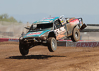 Apr 17, 2011; Surprise, AZ USA; LOORRS driver Curt Leduc (43) during round 4 at Speedworld Off Road Park. Mandatory Credit: Mark J. Rebilas-