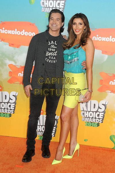 12 March 2016 - Inglewood, California - Scott Stapp, Jaclyn Stapp. 2016 Nickelodeon Kids' Choice Awards held at The Forum.  <br /> CAP/ADM/BP<br /> &copy;BP/ADM/Capital Pictures