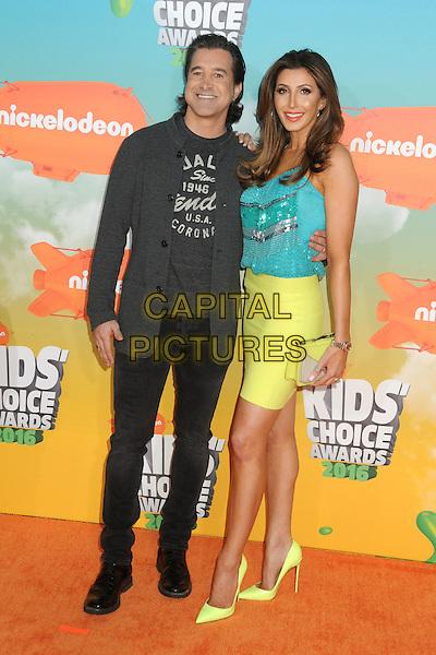 12 March 2016 - Inglewood, California - Scott Stapp, Jaclyn Stapp. 2016 Nickelodeon Kids' Choice Awards held at The Forum.  <br /> CAP/ADM/BP<br /> &copy;BP/ADM/Capital Pictures