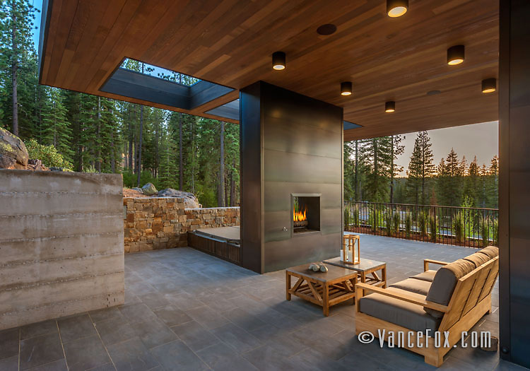Martis Camp Home 506, Martis Camp, Truckee, Ca by Blaze Makoid Architects and Jim Morrison Construction. Vance Fox Photography.