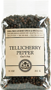 30101 Tellicherry Pepper, Chef Pak 11 oz, India Tree Storefront