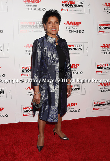 BEVERLY HILLS, CA - FEBRUARY 08:  Actress Phylicia Rashad attends AARP's Movie For GrownUps Awards at the Regent Beverly Wilshire Four Seasons Hotel on February 8, 2016 in Beverly Hills, California.