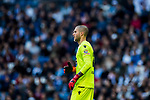 Goalkeeper Ruben Ivan Martinez Andrade of RC Deportivo La Coruna looks on during the La Liga 2017-18 match between Real Madrid and RC Deportivo La Coruna at Santiago Bernabeu Stadium on January 21 2018 in Madrid, Spain. Photo by Diego Gonzalez / Power Sport Images