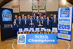 2019 Schick AA Secondary Schools Basketball National Championship post-tournament awards at the Central Energy Trust Arena in Palmerston North, New Zealand on Saturday, 5 October 2019. Photo: Dave Lintott / lintottphoto.co.nz