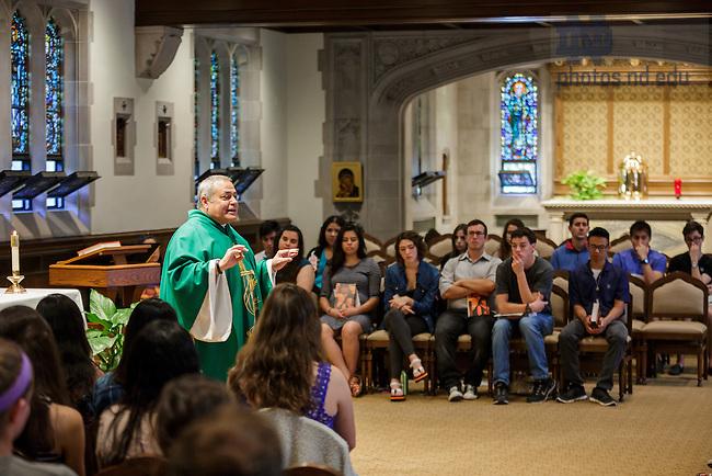 Image result for campus ministry notre dame dorm mass