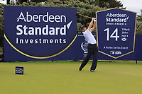 Oliver Wilson (ENG) on the 14th tee during Round 1 of the Aberdeen Standard Investments Scottish Open 2019 at The Renaissance Club, North Berwick, Scotland on Thursday 11th July 2019.<br /> Picture:  Thos Caffrey / Golffile<br /> <br /> All photos usage must carry mandatory copyright credit (© Golffile | Thos Caffrey)