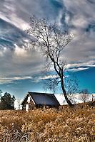Abandoned Farm Shed - High Dynamic Range (HDR) effect