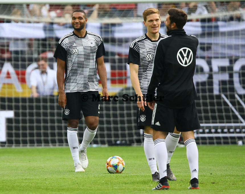 Jonathan Tah (Deutschland Germany), Marcel Halstenberg (Deutschland Germany) - 11.06.2019: Deutschland vs. Estland, OPEL Arena Mainz, EM-Qualifikation DISCLAIMER: DFB regulations prohibit any use of photographs as image sequences and/or quasi-video.