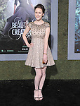 Rachel Brosnahan at Warner Bros. Pictures World Premiere of Beautiful Creatures held at The Grauman's Chinese Theater in Hollywood, California on February 06,2013                                                                   Copyright 2013 Hollywood Press Agency