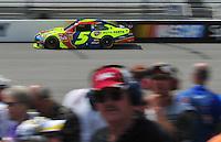 May 2, 2008; Richmond, VA, USA; NASCAR Sprint Cup Series driver Casey Mears during practice for the Dan Lowry 400 at the Richmond International Raceway. Mandatory Credit: Mark J. Rebilas-