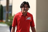 28th November 2019; Yas Marina Circuit, Abu Dhabi, United Arab Emirates; Formula 1 Abu Dhabi Grand Prix, arrivals day; Giuliano Alesi, Ferrari Driver Academy - Editorial Use