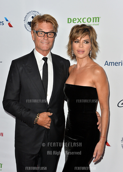 LOS ANGELES, CA. October 06, 2018: Harry Hamlin & Lisa Rinna  at the 2018 Carousel of Hope Ball at the Beverly Hilton Hotel.<br /> Picture: Paul Smith/Featureflash