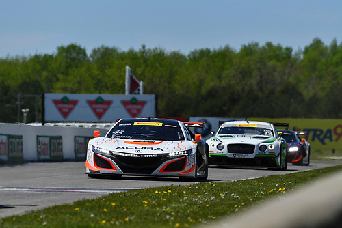 Pirelli World Challenge<br /> Victoria Day SpeedFest Weekend<br /> Canadian Tire Motorsport Park, Mosport, ON CAN Saturday 20 May 2017<br /> Ryan Eversley/ Tom Dyer<br /> World Copyright: Richard Dole/LAT Images<br /> ref: Digital Image RD_CTMP_PWC17066