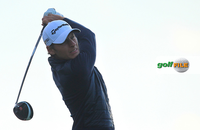 Joakim Lagergren (SWE) on the 11th tee during Round 1 of the Made in Denmark 2016 at the Himmerland Golf Resort, Farso, Denmark on Thursday 25th August 2016.<br />