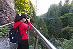 Capilano Suspension Bridge, Vancouver, British Columbia, Canada