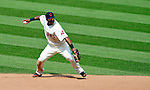 6 September 2009: Cleveland Indians' second baseman Luis Valbuena in action against the Minnesota Twins at Progressive Field in Cleveland, Ohio. The Indians defeated the Twins 3-1 to take the rubber match of their three-game weekend series. Mandatory Credit: Ed Wolfstein Photo