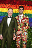 Jesse Tyler Ferguson and husband Justin Mikita attend the 2019 Tony Awards on June 9, 2019 at Radio City Music Hall in New York, New York, USA.<br /> <br /> photo by Robin Platzer/Twin Images<br />  <br /> phone number 212-935-0770
