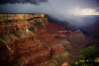 Storms and rainbows at the Grand Canyon