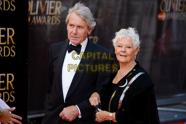 LONDON, ENGLAND - APRIL 13: Dame Judi Dench attends the Olivier Awards 2014 at the Royal Opera House on April 13, 2014 in London, England. <br /> CAP/CJ<br /> &copy;Chris Joseph/Capital Pictures