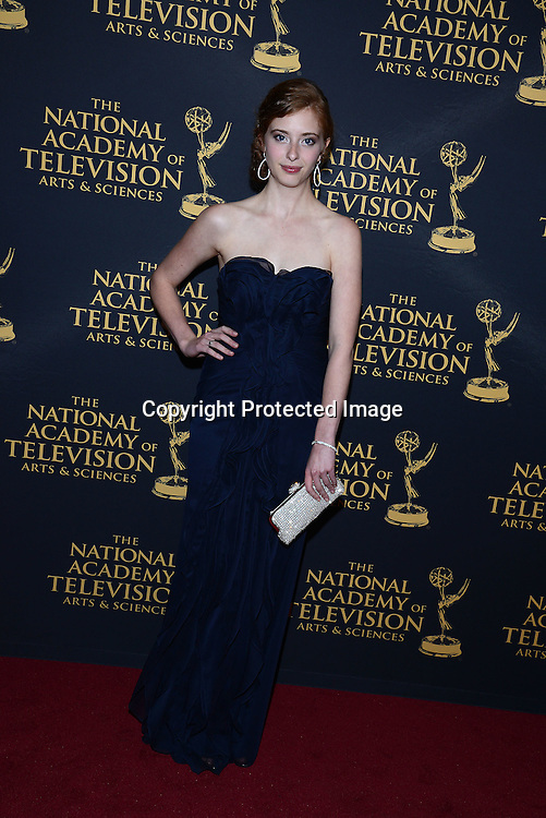 Ashlyn Pearce attends the Creative Arts Emmy Awards on April 24, 2015 at the Universal l Hilton in Universal City,<br /> California, USA.