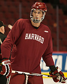 Wiley Sherman (Harvard - 25) - The Harvard University Crimson practiced at the United Center on Wednesday, April 5, 2017, in Chicago, Illinois.