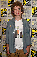 SAN DIEGO COMIC-CON© 2019: 20th Century Fox Television and Hulu's Solar Opposites Cast Member Sean Giambrone during the SOLAR OPPOSITES press room on Friday, July 19 at the SAN DIEGO COMIC-CON© 2019. CR: Frank Micelotta/20th Century Fox Television