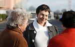 20080108 - France - Aquitaine - Pau<br /> PORTRAITS DE MARTINE LIGNIERES-CASSOU, CANDIDATE PS AUX ELECTIONS MUNICIPALES DE PAU EN 2008.<br /> Ref : MARTINE_LIGNIERES-CASSOU_011.jpg - © Philippe Noisette.