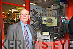 Hugh Culloty pictured outside his shop in the Mall, Tralee.