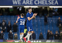 Alvaro Morata of Chelsea at full time during the Premier League match between Chelsea and West Bromwich Albion at Stamford Bridge, London, England on 12 February 2018. Photo by Andy Rowland.