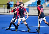 Auckland Grammar v Hastings Boys. Rankin Cup and India Shield 2019 Secondary School Hockey Tournament, Nga Puna Wai Sports Hub, Christchurch, Monday 02 September 2019. Photo: Martin Hunter/Hockey NZ