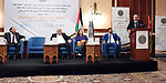 Palestinian Prime Minister Muhammad Shtayyeh, takes part in second administrative staff conference for the Public Prosecution, in the West Bank city of Ramallah, on December 19, 2019. Photo by Prime Minister Office