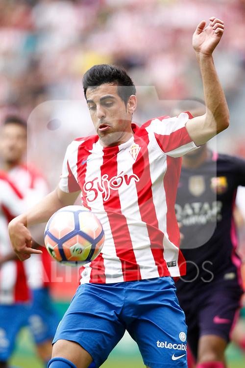 Sporting de Gijon's Burgui during La Liga match. September 24,2016. (ALTERPHOTOS/Acero)