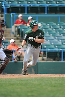 University of South Florida Bulls infielder Zac Gilcrease (16) during a game against the Temple University Owls at Campbell's Field on April 13, 2014 in Camden, New Jersey. USF defeated Temple 6-3.  (Tomasso DeRosa/ Four Seam Images)