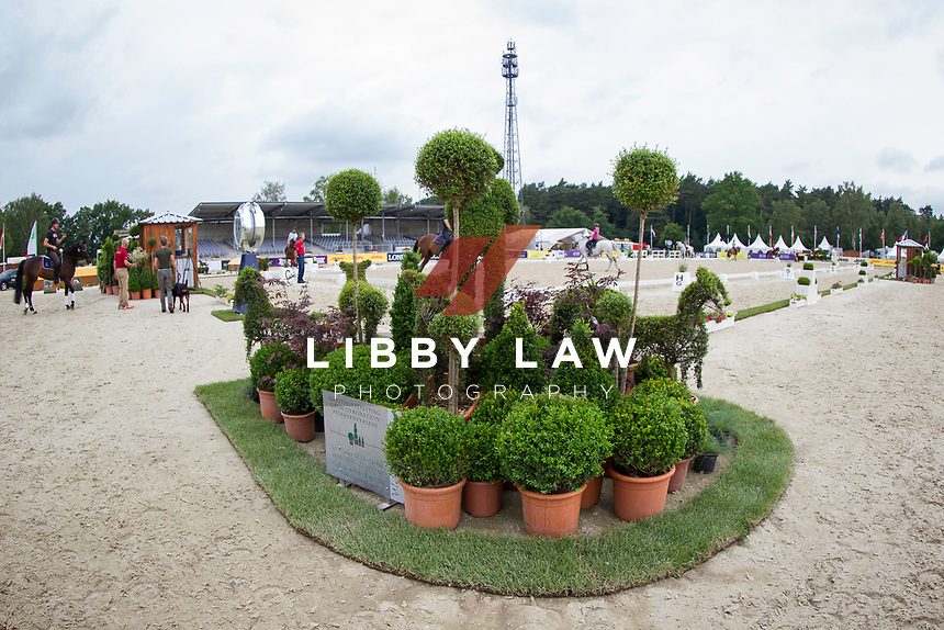 CCI4* ARENA FAMILIARISATION: 2014 GER-Luhmühlen International Horse Trial (Wednesday 11 June) CREDIT: Libby Law COPYRIGHT: LIBBY LAW PHOTOGRAPHY - NZL