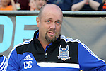 20 April 2013: Carolina head coach Colin Clarke (NIR). The Carolina RailHawks played the Fort Lauderdale Strikers at WakeMed Stadium in Cary, North Carolina in a North American Soccer League Spring 2013 Season regular season game.