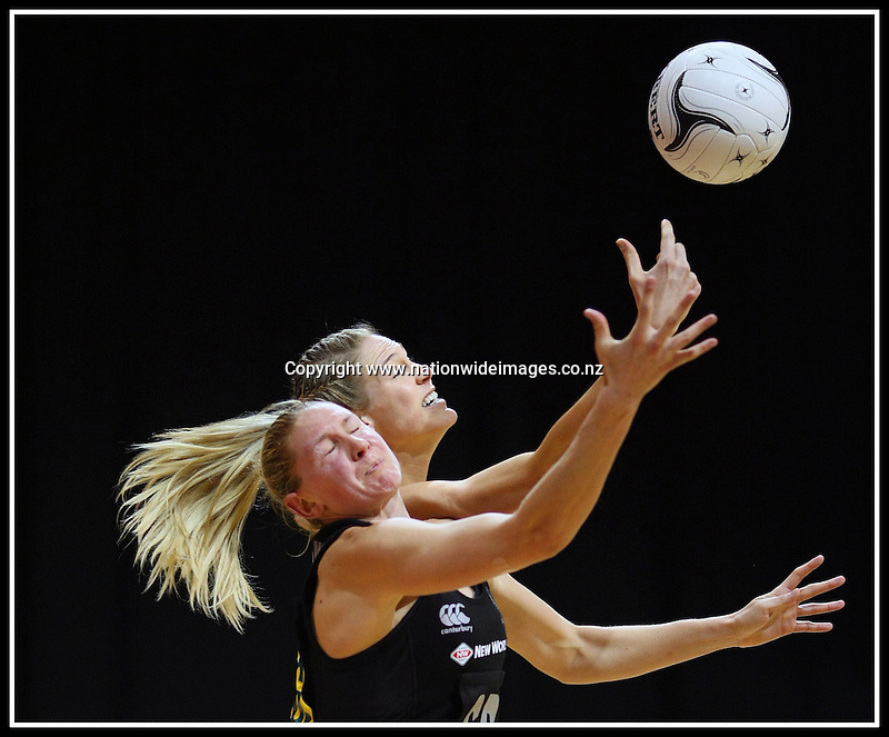 Silver Ferns Captain Casey Williams against Australia in the Quad Series
