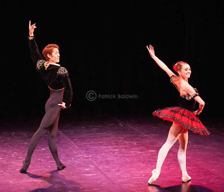 English National Ballet. Emerging Dancer competition 2013. Queen Elizabeth Hall. Ken Sarahashi, Nancy Osbaldeston.