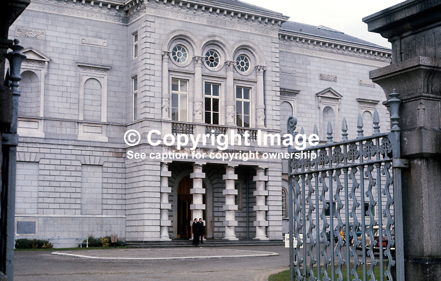 Facade, National Gallery, Dublin, Rep of Ireland, 197303250070.<br />